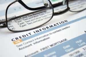 Credit information form